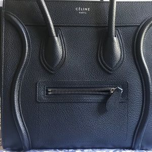 Celine Bags - CELINE Micro Luggage - Like NEW Condition!!